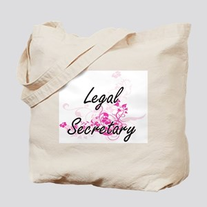 Legal Secretary Artistic Job Design with Tote Bag