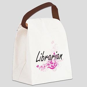 Librarian Artistic Job Design wit Canvas Lunch Bag