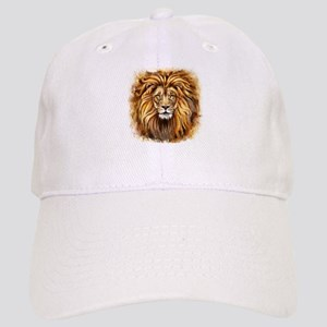 Artistic Lion Face Cap