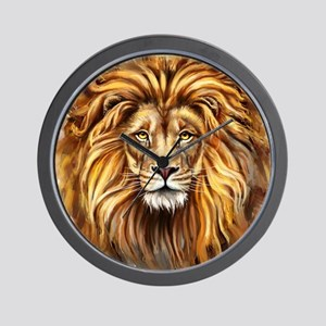 Artistic Lion Face Wall Clock