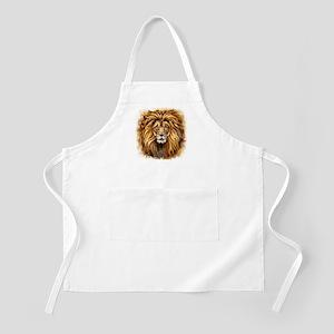 Artistic Lion Face Apron