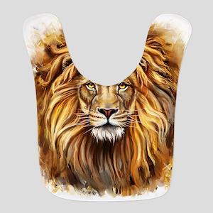 Artistic Lion Face Bib
