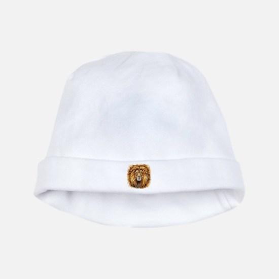 Artistic Lion Face baby hat