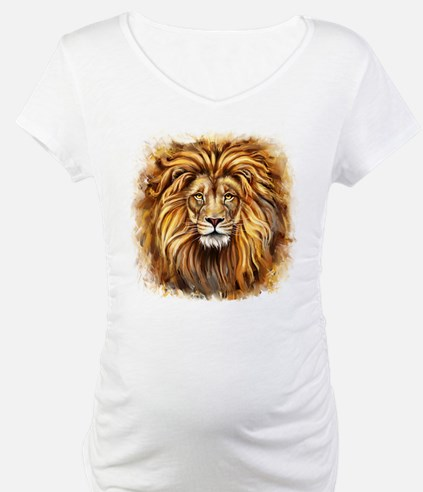 Artistic Lion Face Shirt