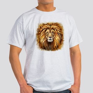 Artistic Lion Face Light T-Shirt