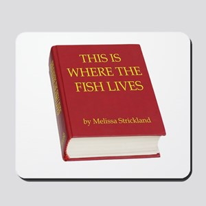 Fish Book Mousepad