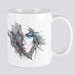 Artistic Female Face Mug