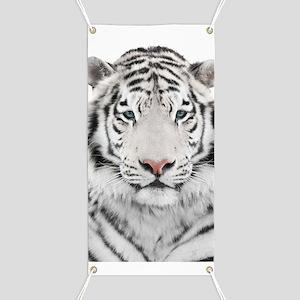 White Tiger Head Banner