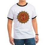 Celtic Knotwork Sun Ringer T