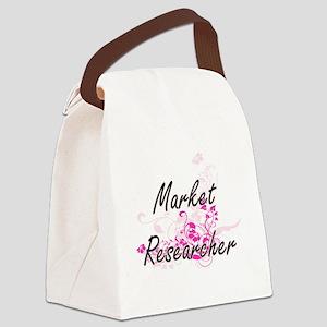 Market Researcher Artistic Job De Canvas Lunch Bag