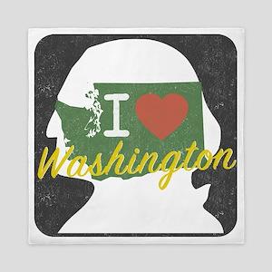 Washington State Love Queen Duvet