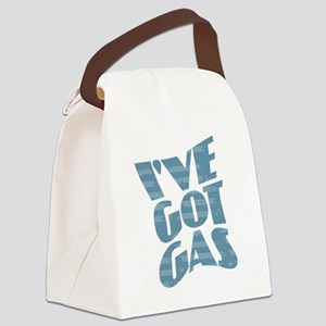 I've Got Gas - Blue Canvas Lunch Bag