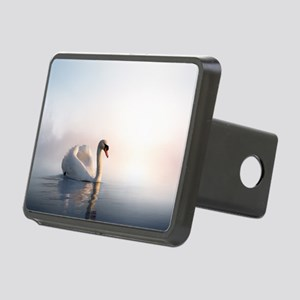 Swan Sunrise Rectangular Hitch Cover