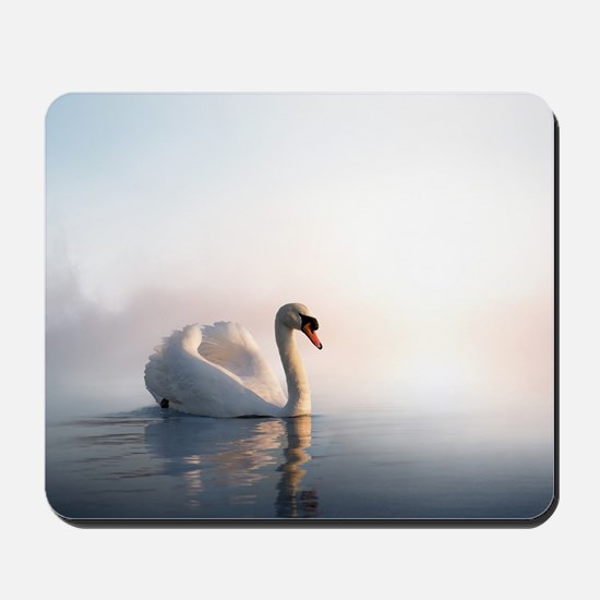 Swan Sunrise Mousepad