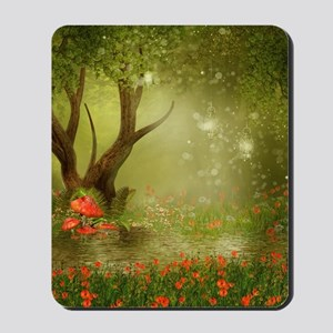 Enchanted Summer Pond Mousepad