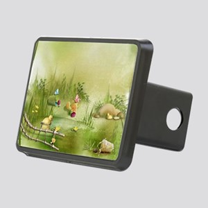 Easter Landscape Rectangular Hitch Cover
