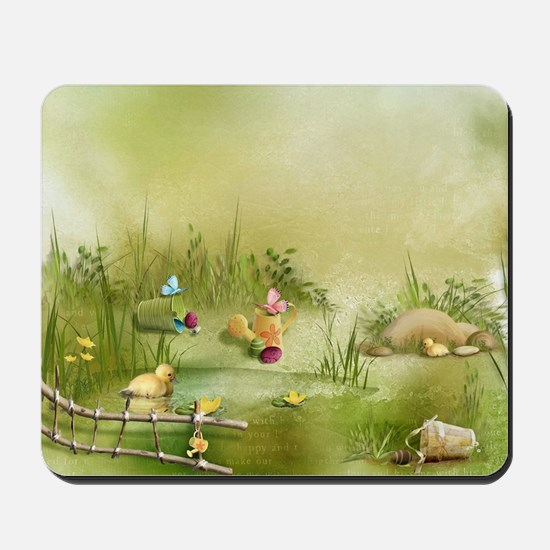 Easter Landscape Mousepad