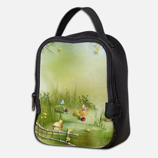 Easter Landscape Neoprene Lunch Bag
