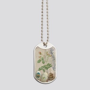 Easter Collage Dog Tags