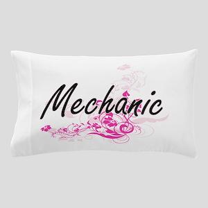 Mechanic Artistic Job Design with Flow Pillow Case