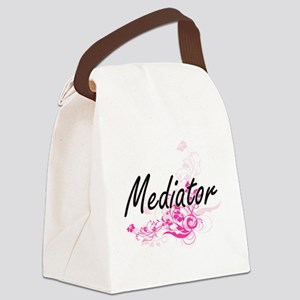 Mediator Artistic Job Design with Canvas Lunch Bag