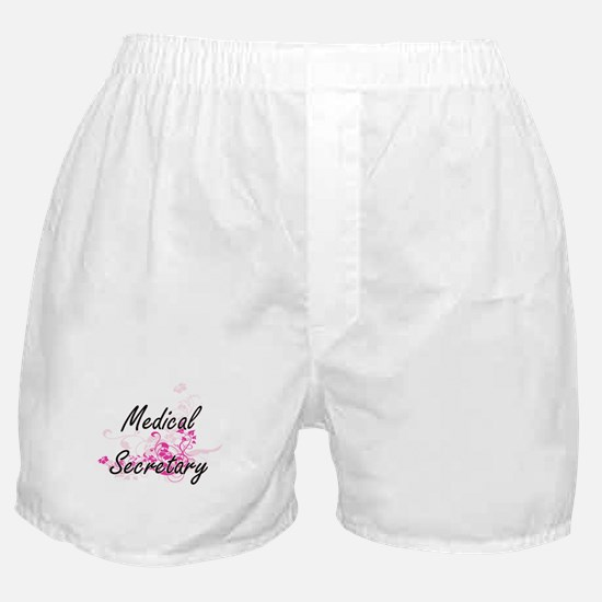 Medical Secretary Artistic Job Design Boxer Shorts