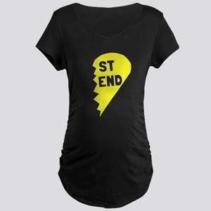 Best Friend Maternity Dark T-Shirt