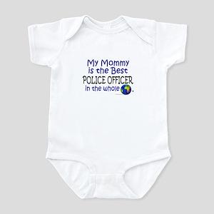 Best Police Officer In The World (Mommy) Infant Bo