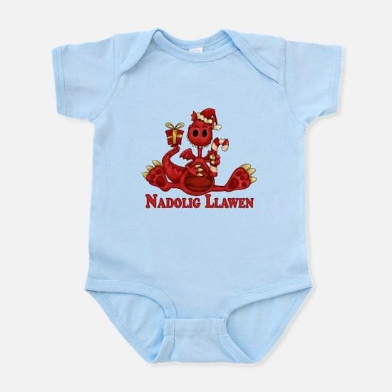 Welsh Dragon Christmas Infant Body Suit