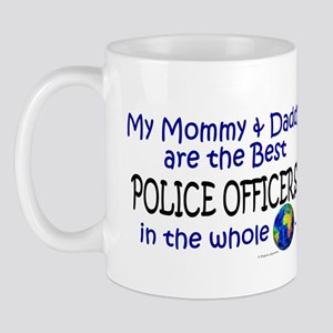 Best Police Officers In The World Mug