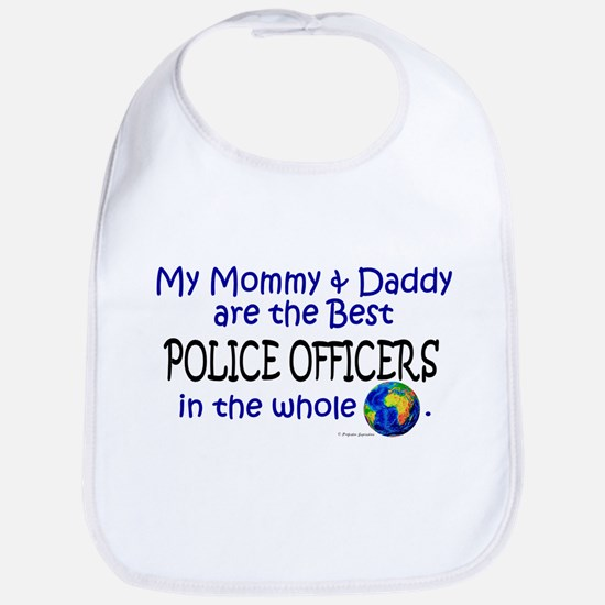 Best Police Officers In The World Bib