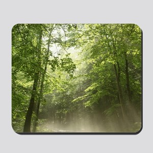 Spring Forest Mist Mousepad