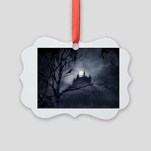 Gothic Night Fantasy Picture Ornament