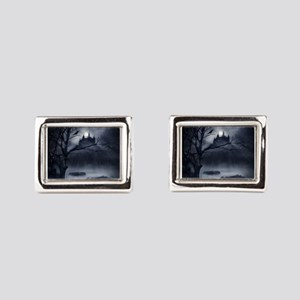 Gothic Night Fantasy Rectangular Cufflinks