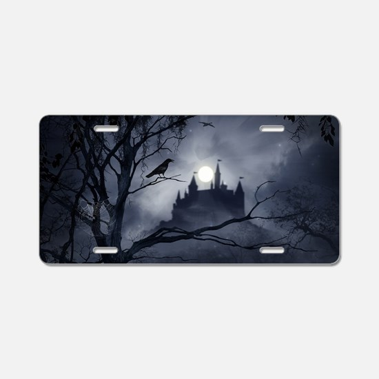 Gothic Night Fantasy Aluminum License Plate