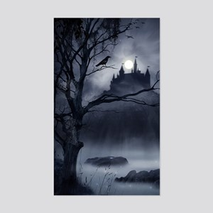 Gothic Night Fantasy Sticker (Rectangle)