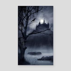 Gothic Night Fantasy Rectangle Car Magnet