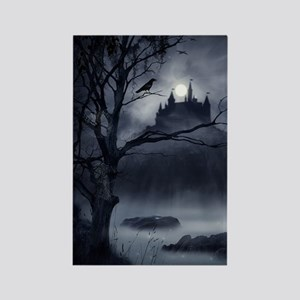 Gothic Night Fantasy Rectangle Magnet
