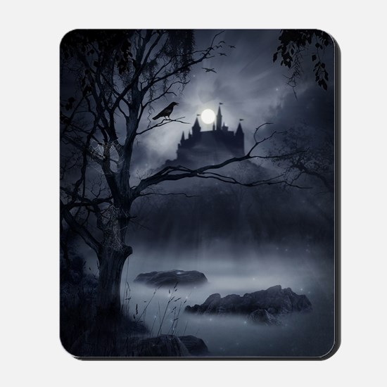Gothic Night Fantasy Mousepad