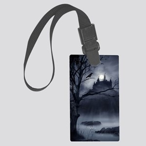 Gothic Night Fantasy Large Luggage Tag