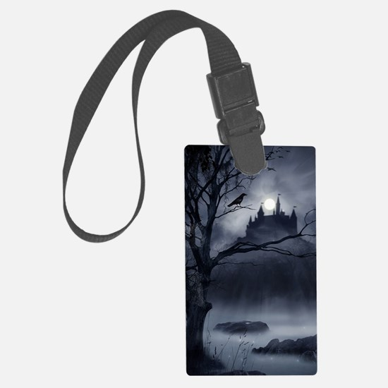 Gothic Night Fantasy Luggage Tag