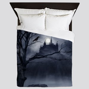 Gothic Night Fantasy Queen Duvet