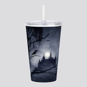 Gothic Night Fantasy Acrylic Double-wall Tumbler