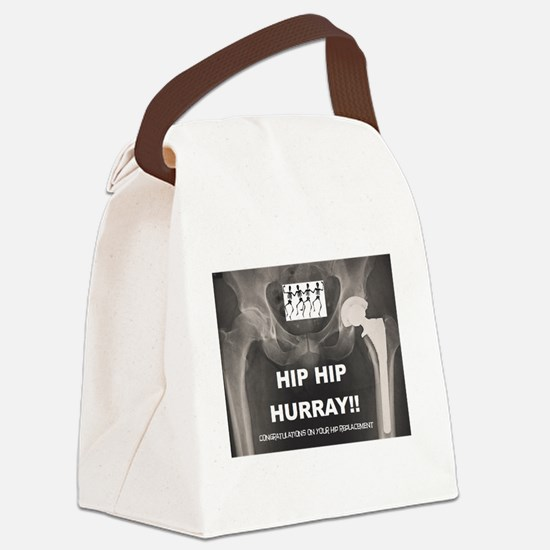 Hip Canvas Lunch Bag