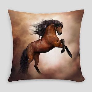 Wild Horse Everyday Pillow