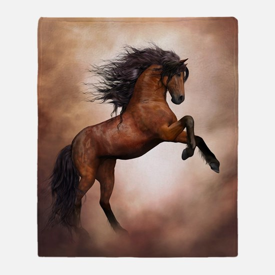 Wild Horse Throw Blanket