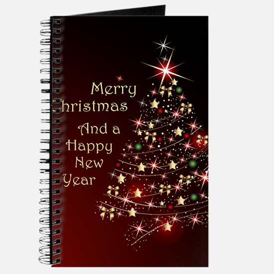 Christmas Tree And Wishes Journal