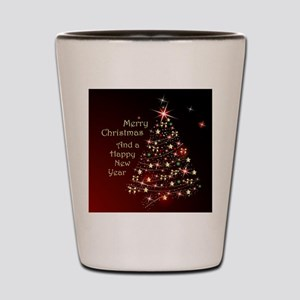 Christmas Tree And Wishes Shot Glass