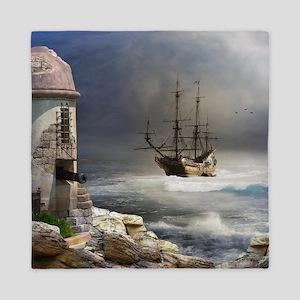 Pirate Bay Queen Duvet