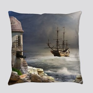 Pirate Bay Everyday Pillow